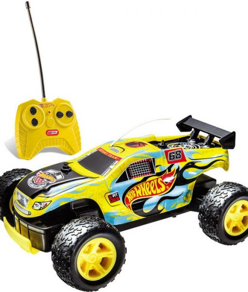 Mondo-Hot-Wheels-Samochód-R-C-Rock-Monster-żółty-1_24-63339-C-Hot-Wheels-63339-C